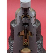 Cut away 7,5cm base fuze for 7,5cm AP shells